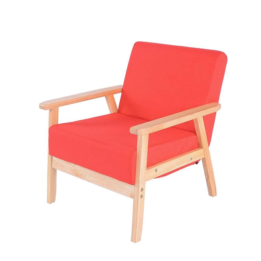 ダイニングチェアレストラン用ダイニングテーブルチェア背もたれアームチェア寝室リビングルームバルコニー カフェバー化粧台コンピュータチェアレジャーソファ椅子 (Color : Red) B07T7H964J Red
