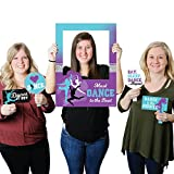 Big Dot of Happiness Must Dance to the Beat - Dance - Birthday Party or Dance Party Selfie Photo Booth Picture Frame & Props - Printed on Sturdy Material