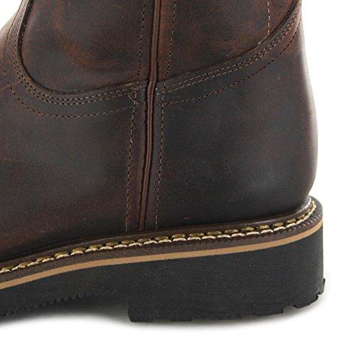 Boulet Boots 4383 Stivali Da Lavoro Da Uomo Con Cappuccio In Acciaio Rame (ampia E)
