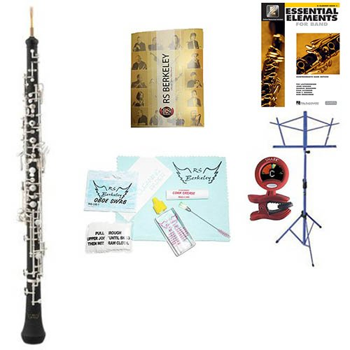 RS Berkeley ob402 Artist Series Oboe with case & Bonus RSB MEGA PACK w/Essential Elements Book by RS Berkeley