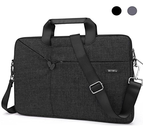 13.3 13 Inch Laptop Bag Sleeve Case Messenger Shoulder Bag Computer Bag Waterproof Padded Nylon Shockproof Notebook Carrying Case for MacBook Air Pro Retina - 2016 MacBook Pro 13 Surface Pro Notebook