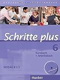 Schritte plus 6: Deutsch als Fremdsprache / Kursbuch + Arbeitsbuch mit Audio-CD zum Arbeitsbuch und interaktiven Übungen (SCHRPLUS)