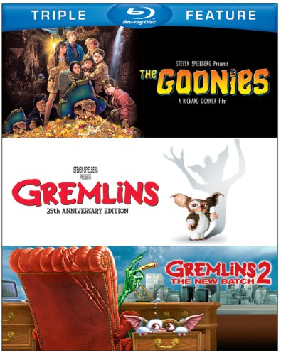 Blu-ray : The Goonies / Gremlins / Gremlins 2: The New Batch (3 Pack, 3 Disc)