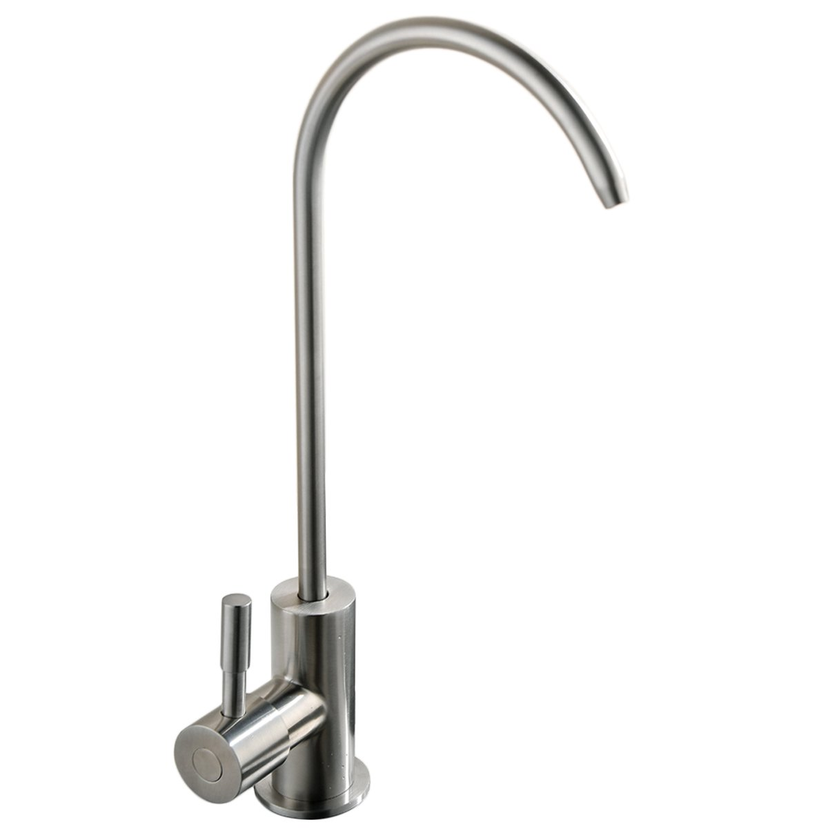 VCCUCINE Modern Antique Stainless Steel Single Handle Kitchen Sink Reverse Osmosis Filter Drinking Water Brushed Nickel Purifier Faucet, Beverage Water Filtration Faucet