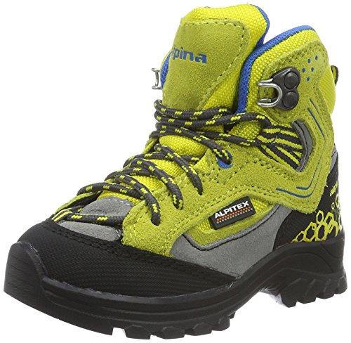 Alpina 680356 Stivali unisex per bambini, per trekking e passeggiate