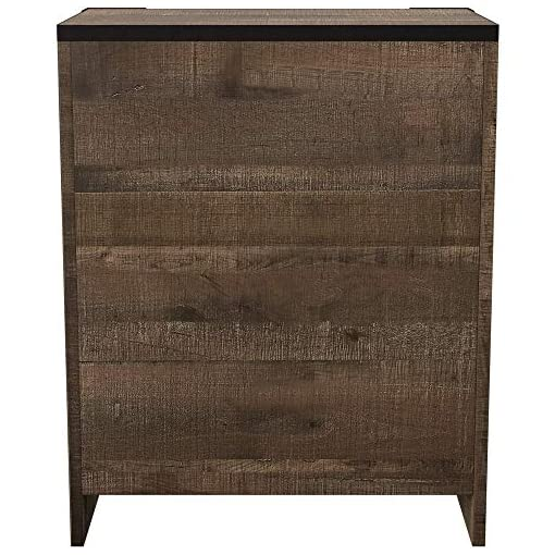 Bedroom Signature Design by Ashley Furniture Signature Design – Trinell Nightstand – Brown farmhouse nightstands