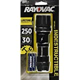 Rayovac Virtually Indestructible 250 Lumen 3AAA LED Flashlight with Batteries (DIY3AAA-B) by Rayovac