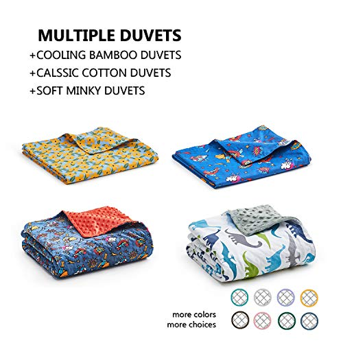 YnM Weighted Blanket 5 lbs for Kids 36x48   20 Cool Heavy Blanket  100 OekoTex Certified Cotton