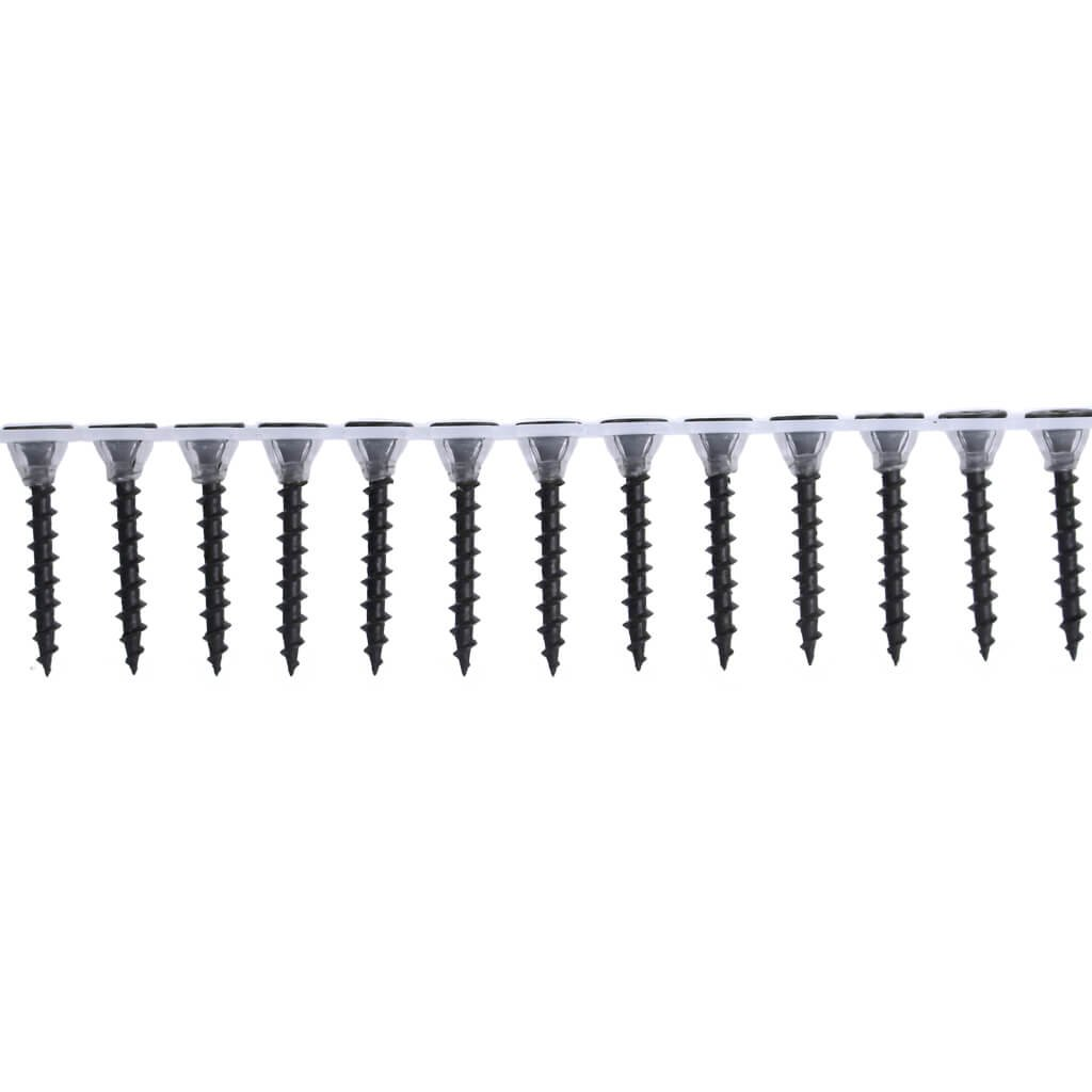 1,000-Pack DuraDrive #6 x 1-1//4 in Grey Phosphate-Plated Phillips Bugle-Head Collated Coarse-Thread Drywall Screws