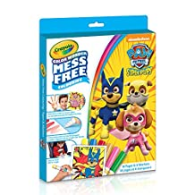 Crayola Crayola Paw Patrol Color Wonder Colouring Pad & Markers, Mess Free, Ages 3, 4, 5,  for Girls and Boys, Gift for Boys and Girls, Kids, Ages 3+, Summer Travel, Out of School Cottage Activties