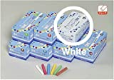 2 X UMAJIRUSHI The Premium Chalk, DC Chalk DX 72pcs White, Made in Japan