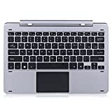 Original Chuwi Hi12 Multi Mode Rotary Shaft Keyboard Magnetic Docking Pogo Pin Separable Design, Hi 12 Metal Rotation Keyboard for 12.0 Inches Tablet