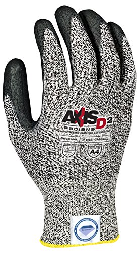 Radians RWGD106S Axis D2 Cut Protection Level A4 Glove (12 Pack), Small by Radians (Image #1)