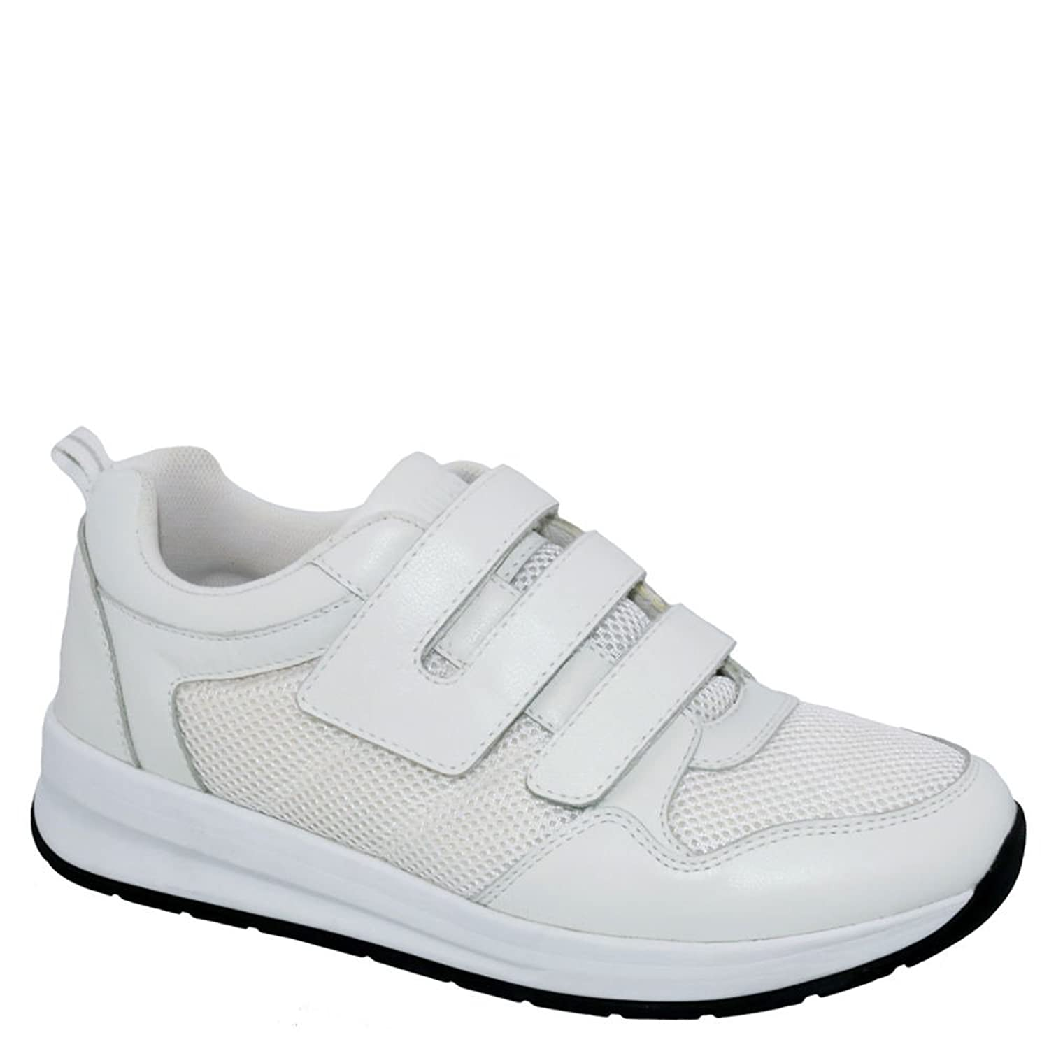 Drew Shoe メンズ 44991 B07B3ZN6KT  White/Combo 11.5 2E US Men