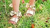 Girls' Open Toe Princess Summer Sandals with
