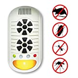 DTMCare Pest Repeller 4 in 1 multi function dual speaker with LED night light. The powerful pest controller uses 4 different types of technological advancements to repel rodents and insects. It's safe to use anywhere and no harm to humans or pets. Made in Taiwan.