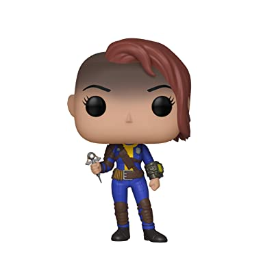 Funko Pop! Games: Fallout - Vault Dweller Female, Standard, Multicolor: Toys & Games