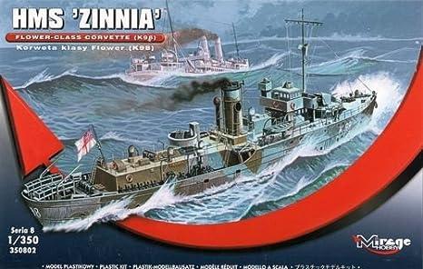 Mirage Hobby 350.802, 1: 350 Escala, el HMS Zinnia - Flor ...