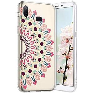 Robinsoni Cover per Samsung Galaxy A6S Cover Silicone Galaxy A6S Case Trasparente Custodia in Gomma Morbido TPU… 7 spesavip