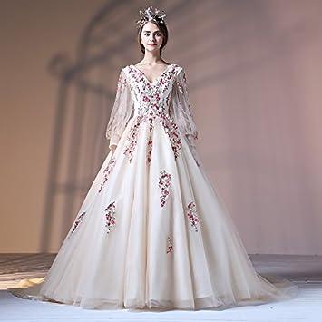 Kekafu Vestido Corte Princesa Con Cuello En V En Tul De