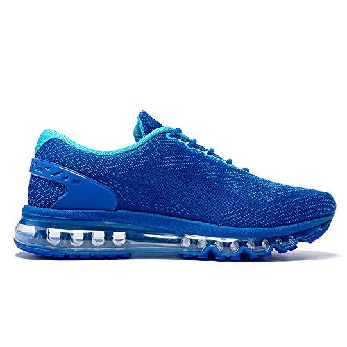 Adulte Chaussures Fitness Gym Bleu Mixte Femme Running Homme Onemix Amortissement Respirante Baskets Air PYfU8q
