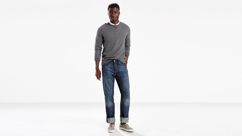 Levi's 00514 Men's 514 Straight Fit Jeans, Shoestring - 34L x 29W