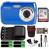 Vivitar VS126 16.1 Mega Pixel Digital Camera w/Accessory Kit - Blue