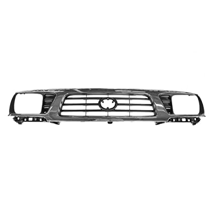 c36f2e8271184 Grille Upper Chrome & Black for 95-97 Toyota Tacoma 4WD