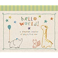 C.R. Gibson Baby's First Year Calendar, By Cathy Heck Stickers Provided, Meas...