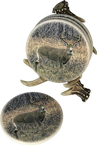 Themed Coaster (REP Deer Antler Coaster Set    Deer Pattern 535)
