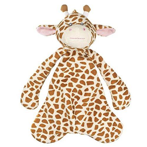Jamie Giraffe Pacifier Clip Snuggle Cozy By Ganz (BG3336)