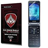 galaxy ace 2 screen protector - Ace Armor Shield ProTek Guard Screen Protector for the Samsung Galaxy Folder 2 with free lifetime Replacement warranty
