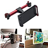 Best I Pad Car Headrests - Vehicle Tablet Headrest Mount (Black+Red), Cuitan 360 Degree Review