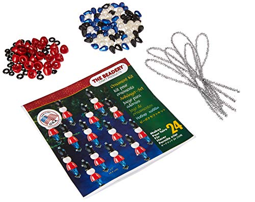 - Beadery 7447 Holiday Beaded Ornament Kit Mini Toy Soldier Makes 24, Multi