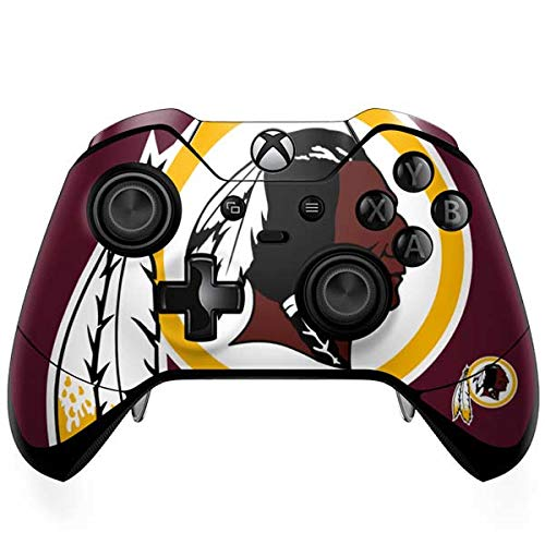 Controller Xbox Washington Redskins - Skinit Washington Redskins Large Logo Xbox One Elite Controller Skin - Officially Licensed NFL Gaming Decal - Ultra Thin, Lightweight Vinyl Decal Protection