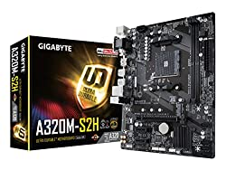 Image of the product GIGABYTE GA A320M S2H AMD that is listed on the catalogue brand of Gigabyte.