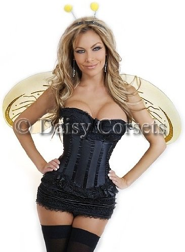 Daisy Corsets 4 PC Sexy Bumblebee Costume