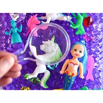 Unicorns & Mermaids Discovery Kit for Sensory Play (No Box) : Baby