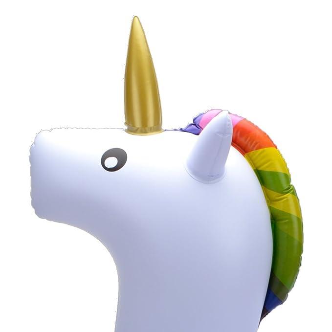Beby Flotador Inflable para Piscina de Unicornio 2017 Verano Nuevo Diseño Seguro Material Clásico Anillo de Natación para Adultos Mujeres Niños Niños ...