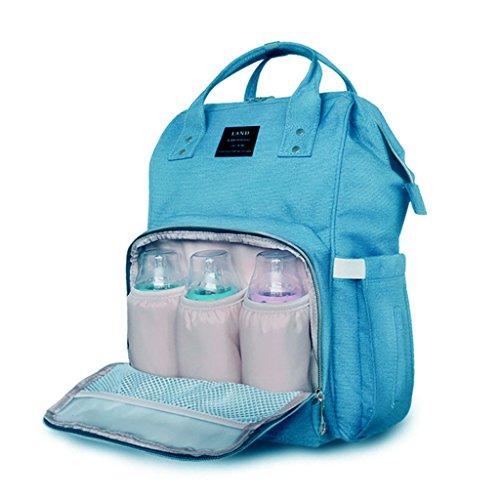 Cambiar Pañales Mochilas Bolsa de paquete doble azul Style39 Navy Style41 Blue