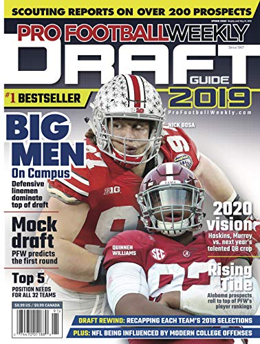 Pdf Outdoors Pro Football Weekly Draft Guide 2019