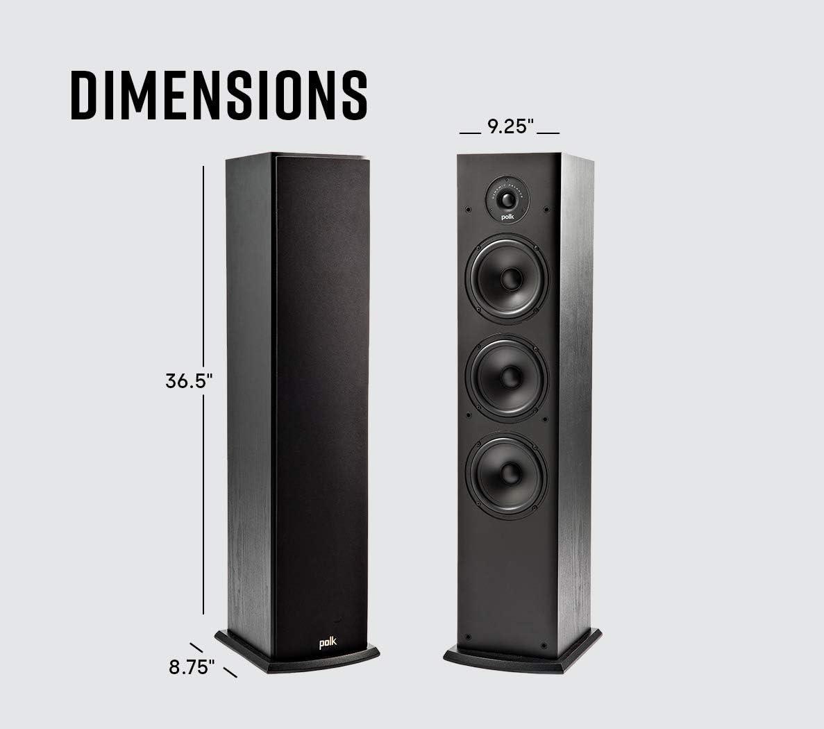 Polk Audio T50: i diffusori a sospensione pneumatica
