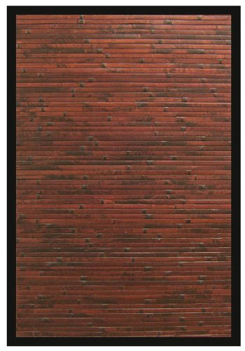 Anji Mountain Cobblestone Bamboo Rug 7' x 10' (AMB00850710) (Pottery Barn Used Furniture)