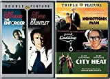 Clint Feature Eastwood Films Gauntlet Enforcer Dirty Harry Collection + Triple Feature Honkeytonk Man / Pink Cadillac / City Heat Movie Bundle pack
