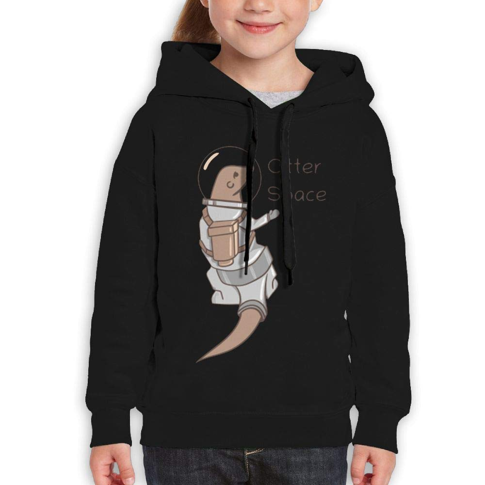 Yishuo Teen Boys Limited Edition Friday Casual Style Jogging Hoody Black