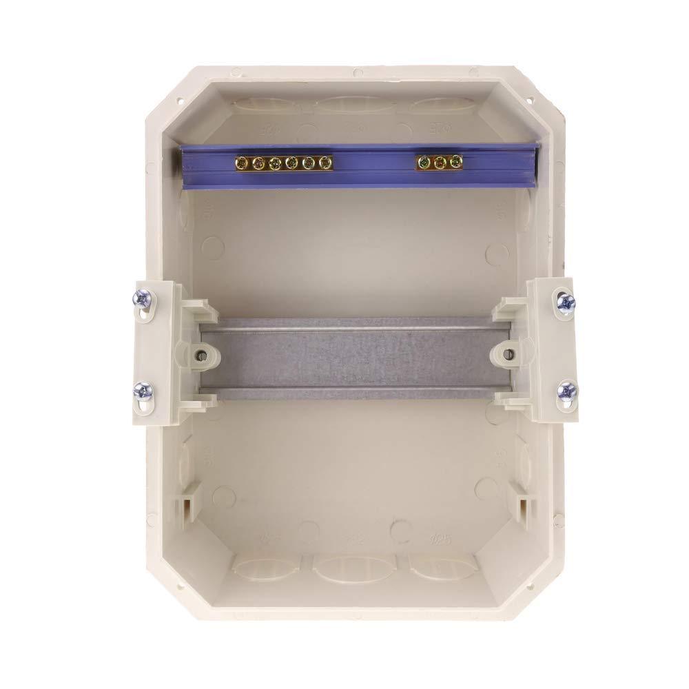 Coffret /électrique encastr/é IP40 SPN 6M plastique ABS Cablematic