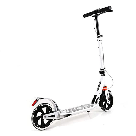 amazon zxl adults scooter pu wheel widening pedal adjustable Three Wheel Gas Motor Scooters amazon zxl adults scooter pu wheel widening pedal adjustable durable kick scooter color white home kitchen