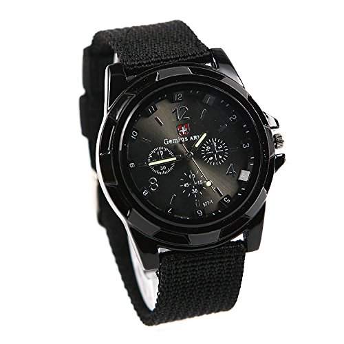 Black Swiss Watch - 5
