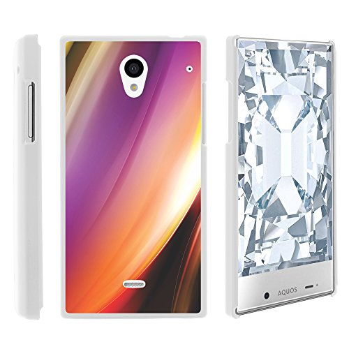 Sharp AQUOS Crystal Case, Stylish Personalized Protective Snap On Hard Case Phone Protector for Sharp AQUOS Crystal 306 SH (Sprint, Boost Mobile, Virgin Mobile) from MINITURTLE | Includes Clear Screen Protector and Stylus Pen - Aurora Northern Lights (Sharp Aquo Crystal Cases compare prices)