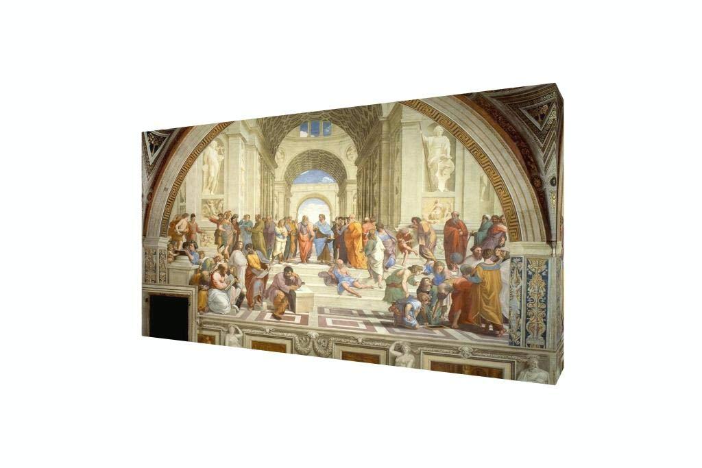 Raphael School of Athens Giclee Canvas Print